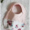 ベビースタイ♡女の子用②花柄×ピンク